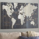 Mercury Row 'Old World Map' Graphic Art Print on Wrapped Canvas MROW3924