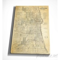 WexfordHome 'Chicago Map' Graphic Art Print on Wrapped Canvas WEXF2171