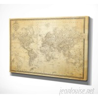 WexfordHome 'Vintage Wold Map V' Graphic Art Print WEXF2130