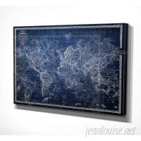 WexfordHome 'Vintage Wold Map V' Graphic Art Print WEXF2131