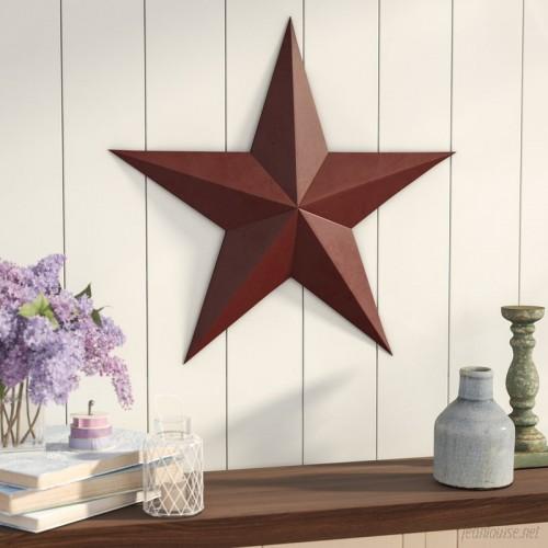 August Grove Raised Star Wall Décor ATGR3393