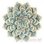 Bungalow Rose Multiple Layer Metal Flower Wall Décor BGRS1875