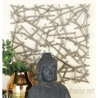 Cole Grey Metal Wall Décor CLRB2297