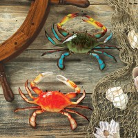 Design Toscano Tropical 2 Piece Crabs Wall Décor Set TXG1409