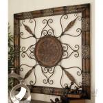 Fleur De Lis Living Rustic Beveled Wall Decor CLRB6080