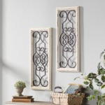 Lark Manor 1 Piece Ortie Panel Wall Décor LARK3020