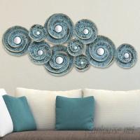 Stratton Home Decor Decorative Waves Metal Wall Décor STHD1305