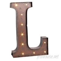 Trent Austin Design Letter LED Marquee Sign TRNT1501