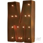 Trent Austin Design Rustic Vintage Letter LED Marquee Sign TRNT1734