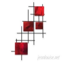 7055 Inc Satellite Squares Wall Décor SSFI1185