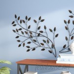 Andover Mills Blowing Leaves Wall Décor ADML8106