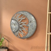 Bloomsbury Market Celestial Sun and Moon Wall Decor BLMT8349