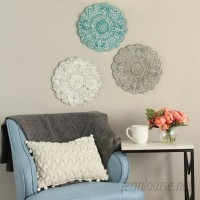 Bungalow Rose Small Medallion Wall Décor TCZR1018