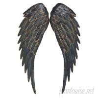 Cole Grey Metal Wing Wall Décor COGR9729