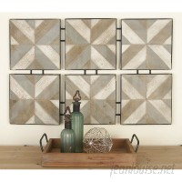 Cole Grey Wood and Metal Wall Décor COGR9522