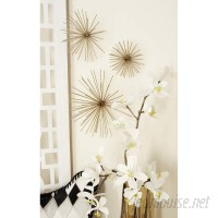 Langley Street 3 Piece Decorative Metal Star Wall Decor Set LGLY4844