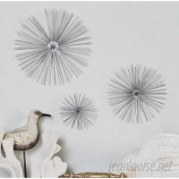 Langley Street 3 Piece Star Metal Wall Decor Set LGLY4843