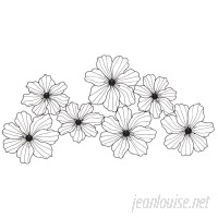 Latitude Run Flowers Metal Wall Decor LATT1555