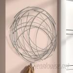 Orren Ellis Contemporary Abstract Round Wall Décor ORNE8485