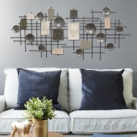 Orren Ellis Large Modern Industrial Wall Décor ORNE9168