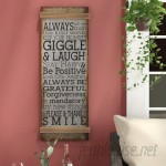 Red Barrel Studio Metal Rope Wall Sign Wall Décor RDBL2242