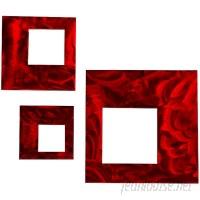 7055 Inc 3 Piece Squares Wall Décor Set SSFI1165