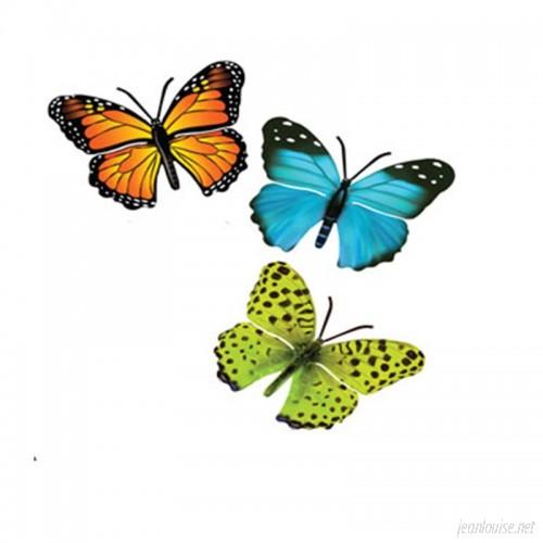 August Grove 3 Piece Butterfly Wall Decor Set AGTG3807
