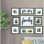 Darby Home Co Broderick 8 Piece Family Decor Picture Frame Set DRBH2206