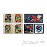 Gallery Direct 'Spider-Man Comic Covers and Ultimate Spider-Man Assortment' 7 Piece Graphic Art Print Set on Canvas HADN1177