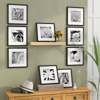 The Twillery Co. Estinnes 9 Piece Wood Picture Frame Set CHMB2109