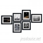 Williston Forge 'Urban' Framed 6 Piece Photo Graphic Print Set on Paper WLSG2468