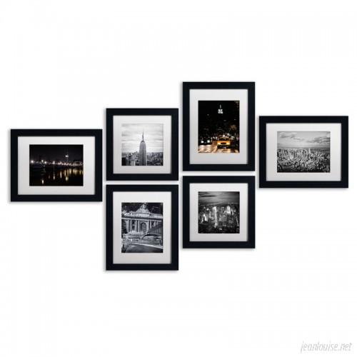 Williston Forge 'Urban' Framed 6 Piece Photo Graphic Print Set on Paper WLSG2468