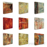 World Menagerie 'Multi Color Abstract' 9 Piece Graphic Art on Canvas Set WRMG2678