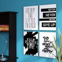 Zipcode Design Inspirational Textual Art On Wood ZPCD3572