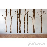 Innovative Stencils Birch Tree Forest Branches Wall Decal ISTC1018