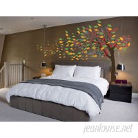 Innovative Stencils Wind Blowing Tree Cherry Blossom Nursery Wall Decal ISTC1094