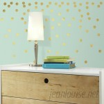 Room Mates Confetti Dots Peel and Stick Wall Decal Set RZM3107