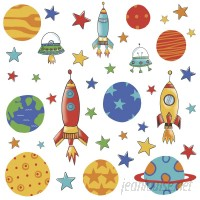 Room Mates Planets and Rockets Wall Decal RZM2736