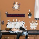 Room Mates Room Mates Deco 15 Piece Chefs Wall Decal RZM1331