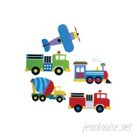 Wallies Kids Trains, Planes and Trucks Wall Decal WXS1168