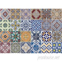 WallPops! Azulejos Kitchen Wall Decal WPP1742