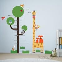 Walplus Animal Measurement Wall Decal WLPU1080