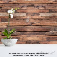 Walplus Flexiplus Timber Wall Decal WLPU1207