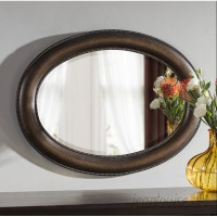 Alcott Hill Traditional Oval Accent Mirror ACOT8189