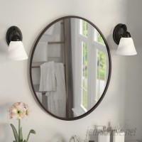 Darby Home Co Lincolnwood Oval Wall Mirror DBHM6239
