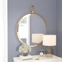 Darby Home Co Traditional Round Accent Mirror DABY8502