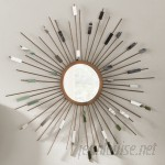 Langley Street Orion Starburst Wall Mirror LGLY5918