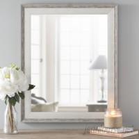 Lark Manor Shabby Elegance Wall Mirror LRKM1725