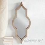 Mistana Irregular Wood Framed Wall Mirror MTNA1005