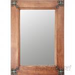MyAmigosImports Concho Cross Rustic Mirror MYAM1009